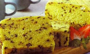 Resep Cake Kukus Labu Kuning Dengan Bintik Cokelat
