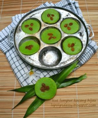 resep kue lumpur kacang hijau berkreasi dengan kacang