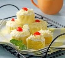 Resep Kue Cup Cake Kukus Keju