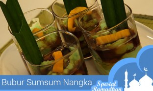 #Sajian Ramadhan: Resep Bubur Sumsum Nangka