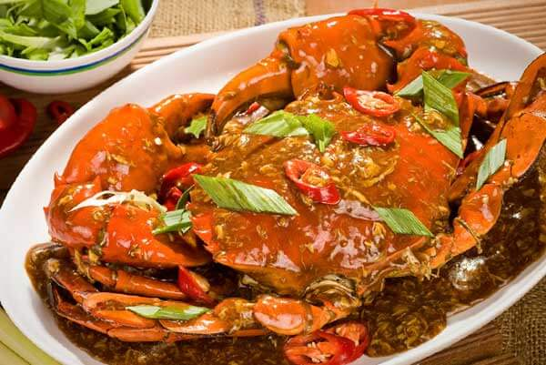 Resep masakan praktis kepiting saus padang