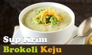 Resep Sup Krim Brokoli Keju