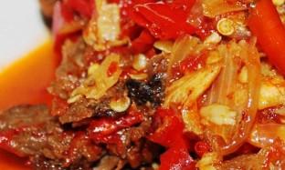 Daging Layu Rica-Rica – Masakan Khas Subang