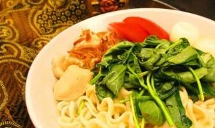 Resep Mie Kangkung Tuna Pedas