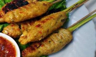 Sate Lilit – Masakan Khas Bali