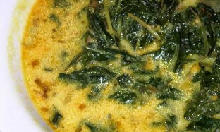 Resep Sup Tomat Daun Singkong