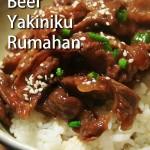 Resep Beef Yakiniku ala Hokben – Gampang Dibuat di Rumah