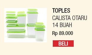 Calista Otaru Sealware Set 14 Buah Original