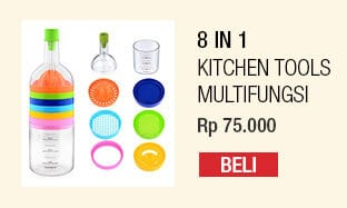 8 in 1 Kitchen Tools – Alat Dapur Multifungsi