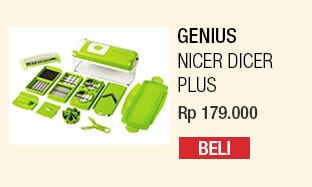 Genius Nicer Dicer Plus – Pemotong Serbaguna (As Seen On TV)