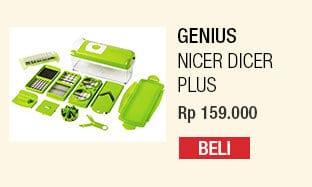 Genius Nicer Dicer Plus – Pemotong Serbaguna (As Seen On TV)
