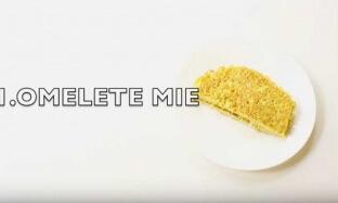 Olahan Mie Instan : Resep Omelet Mie