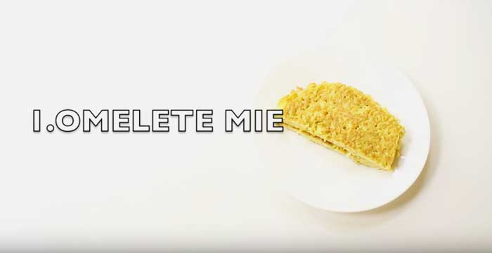 omelet-mie
