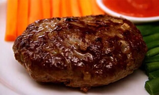 Steak Daging Giling Yummy Rumahan