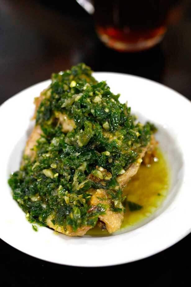 Ayam bumbu cabai hijau | via cintaresep.wordpress.com