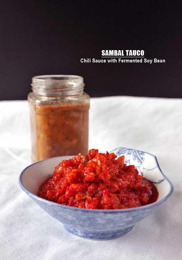 Sambal tauco | via dailycookingquest.com