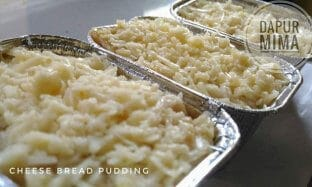 Resep Cheese Bread Pudding