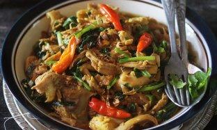 Resep Ayam Sawi Masak Kecap