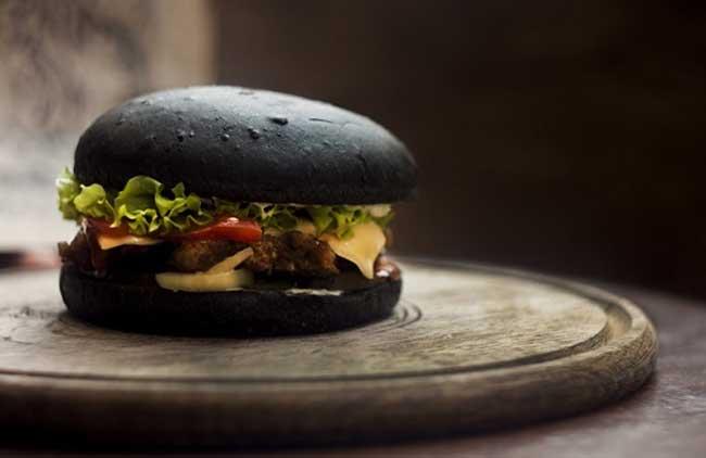 Burger Rendang Hitam Ala Resep Koki