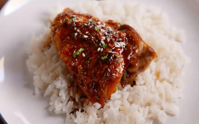 Ayam Goreng Mentega Saus Madu