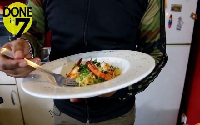 Spaghetti Oglio Olio ala Rumahan