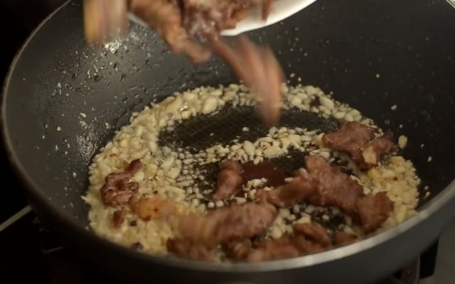 Daging Sapi Tumis Ala Mongolia