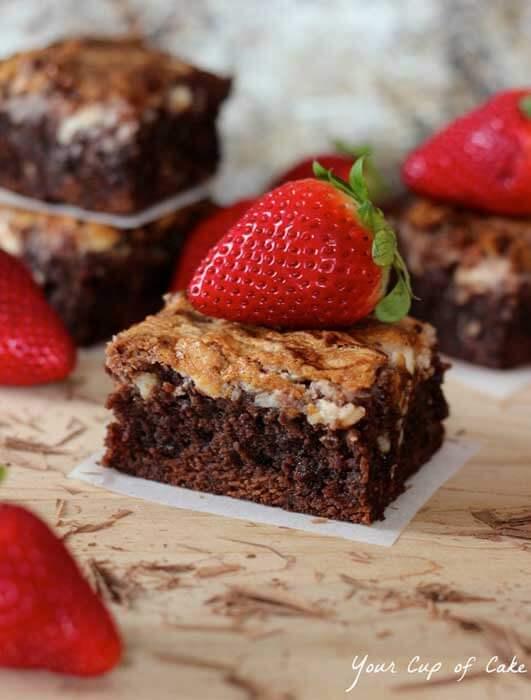 kue brownies / img: www.yourcupofcake.com