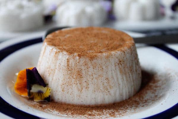Coconut silky pudding - via emaze.com