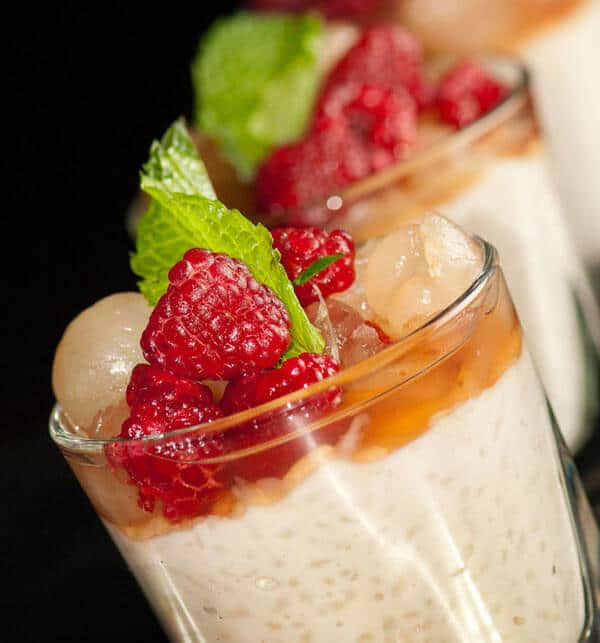 Fruity silky pudding - via dnleslie.com