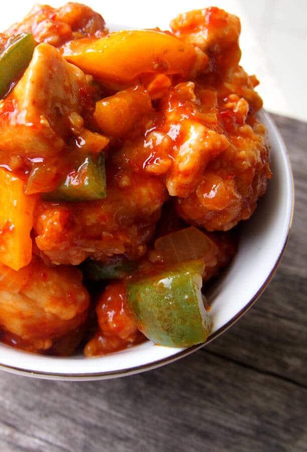 Ayam masak manis | via azianhasan.com