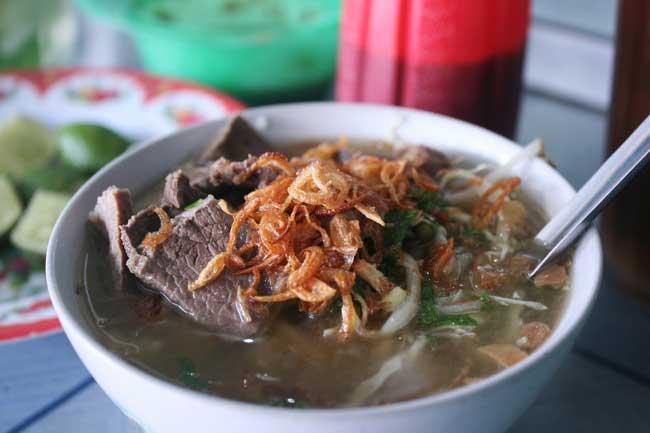 Resep  Soto Daging Kuah Bening