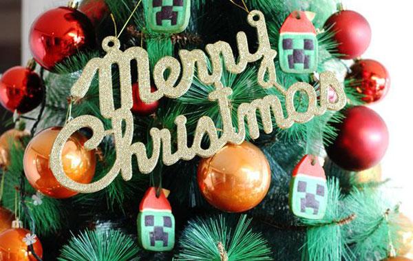 Sajian Natal: Resep Cookies Minecraft Santa