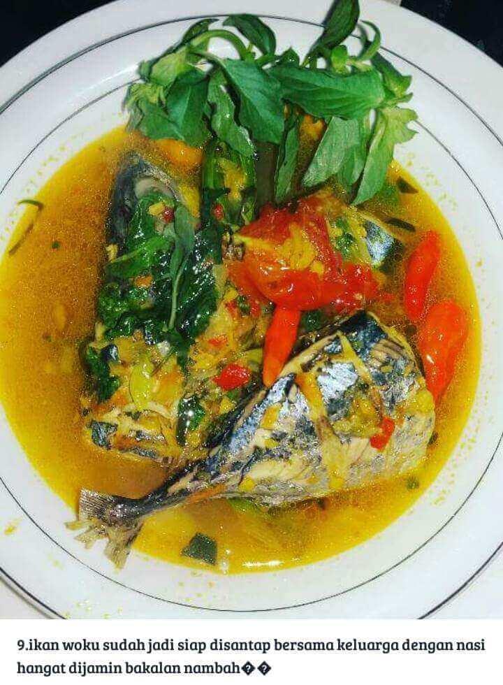 Resep Ikan Tongkol Masak Woku Khas Manado