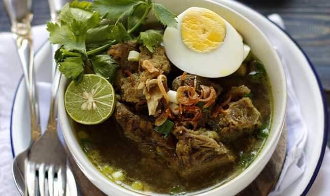 resep soto daging bakar