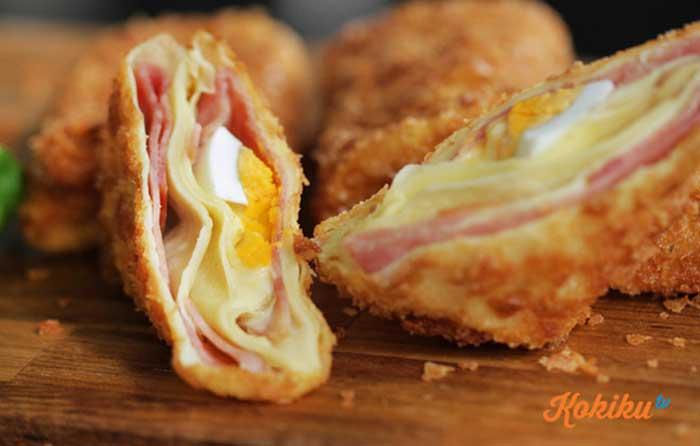 Risoles Keju Mayonnaise  Resepkoki.co