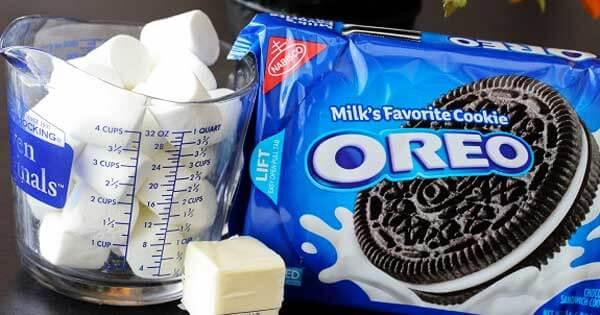 Oreo Chewy Cream Bars