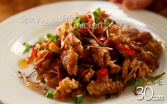 Ayam Krispi Saos Pedas