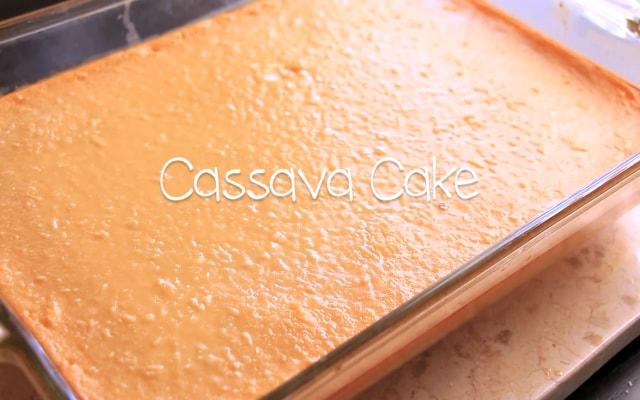 Resep Cake Cassava Lezat