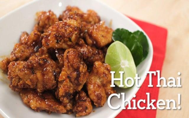 Ayam Krispi Pedas ala Thailand