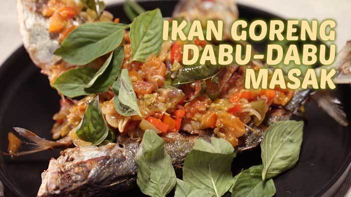 Ikan Goreng Dabu-dabu Masak