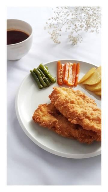 Steak Ayam Crispy Simple Ala Rumahan